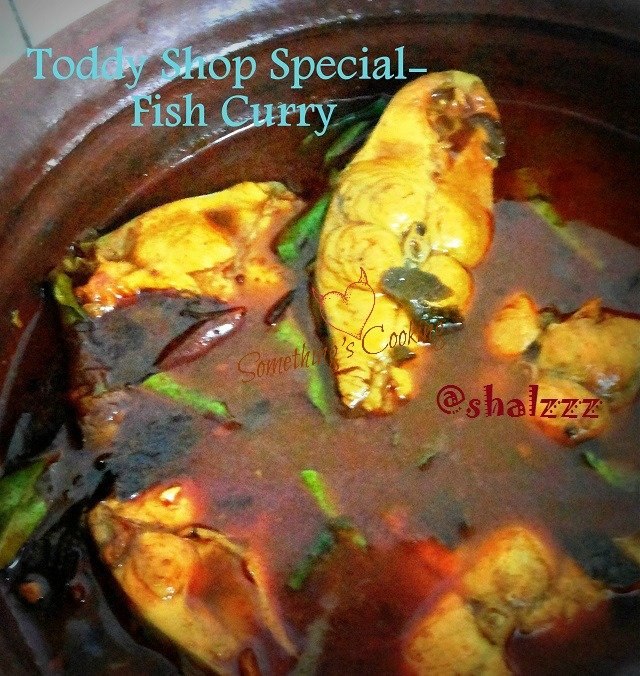 Toddy Shop Special Fish Curry