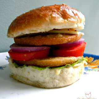 Chicken Cheese Burger