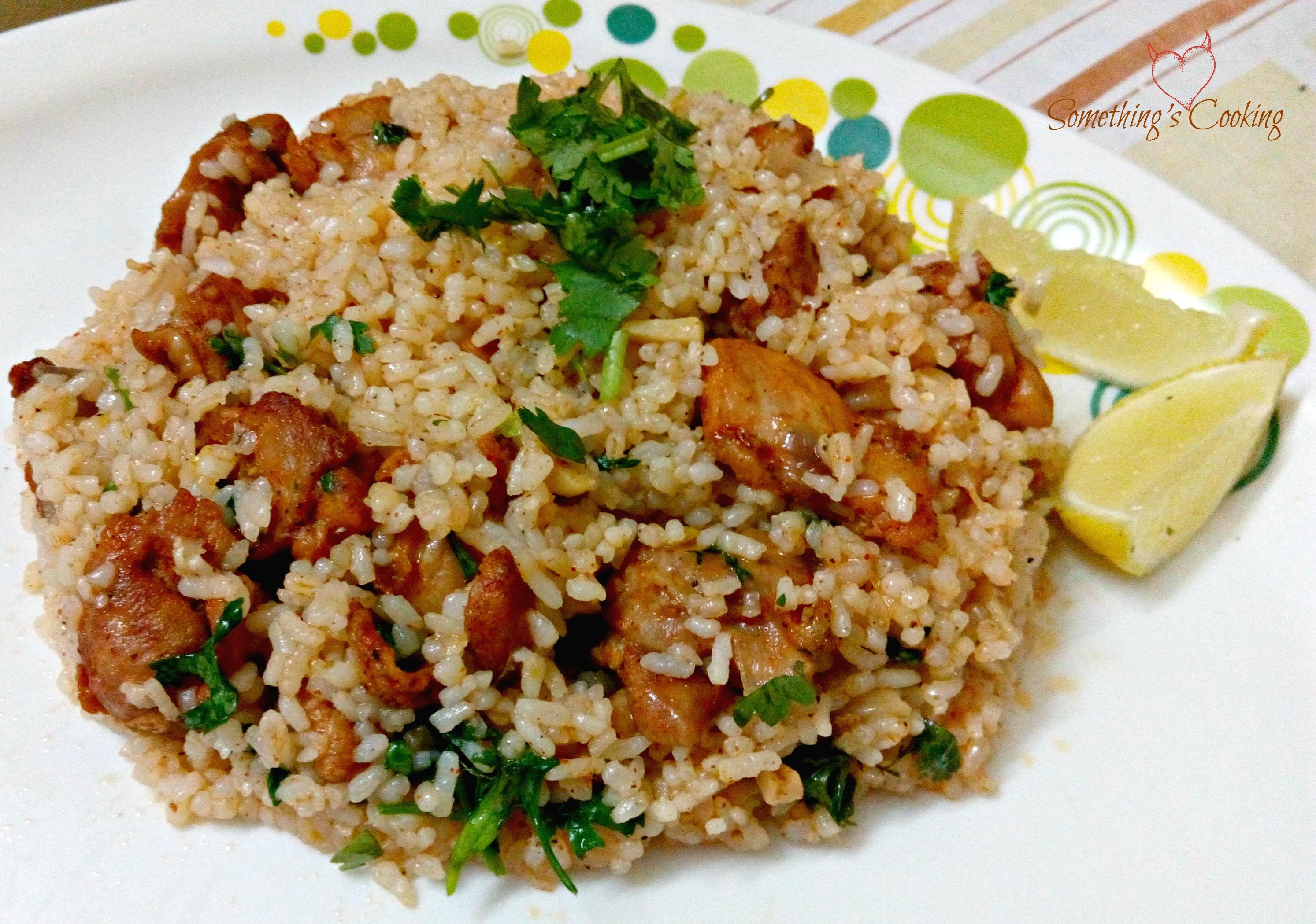 Laura's Cilantro Lime Chicken and Rice