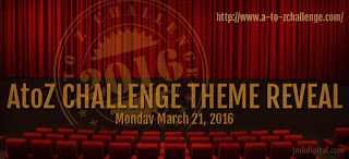 Spilling the Beans #AtoZChallenge ThemeReveal 2016 @AprilAtoZ