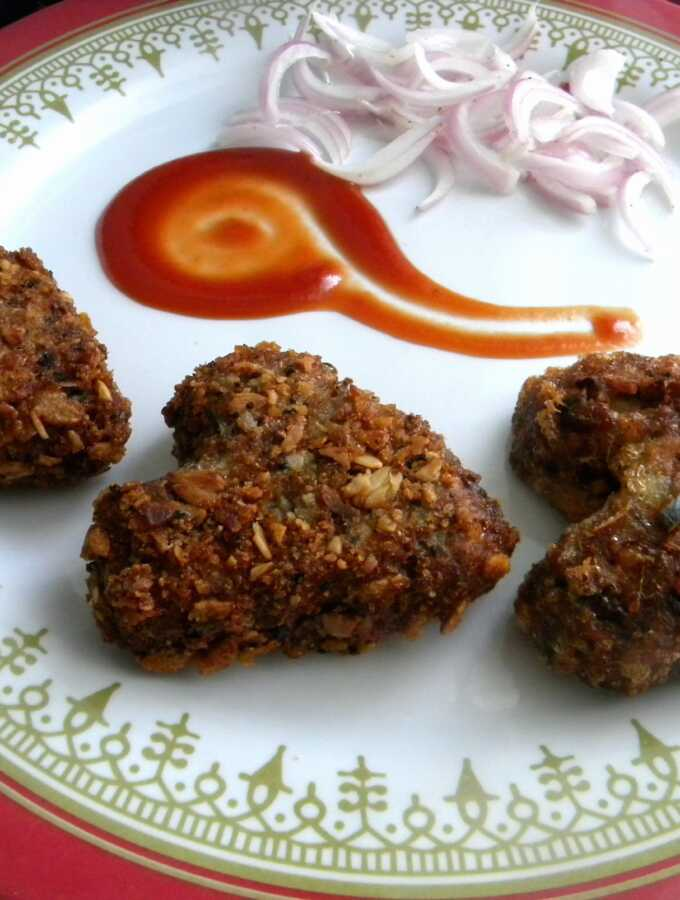 Kerala Chicken Cutlet - Chicken Croquettes