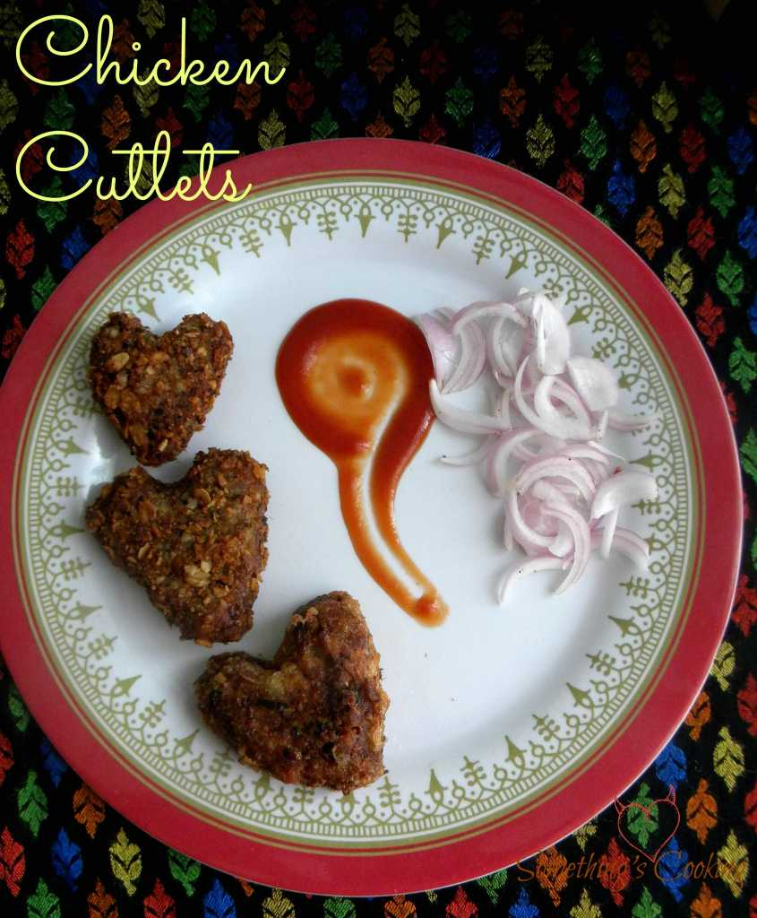 How to make Kerala Style Chicken Cutlet somethingiscooking.com