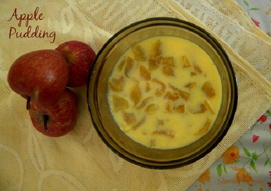 apple-pudding-kerala-eggless-nobake