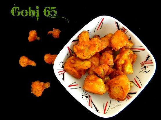 Gobi 65 - Recipe - Restaurant Style - At home