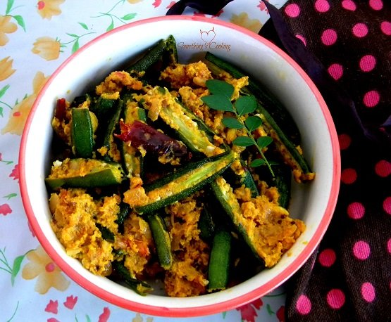 Hyderabadi Bhindi- Okra- Lady's finger