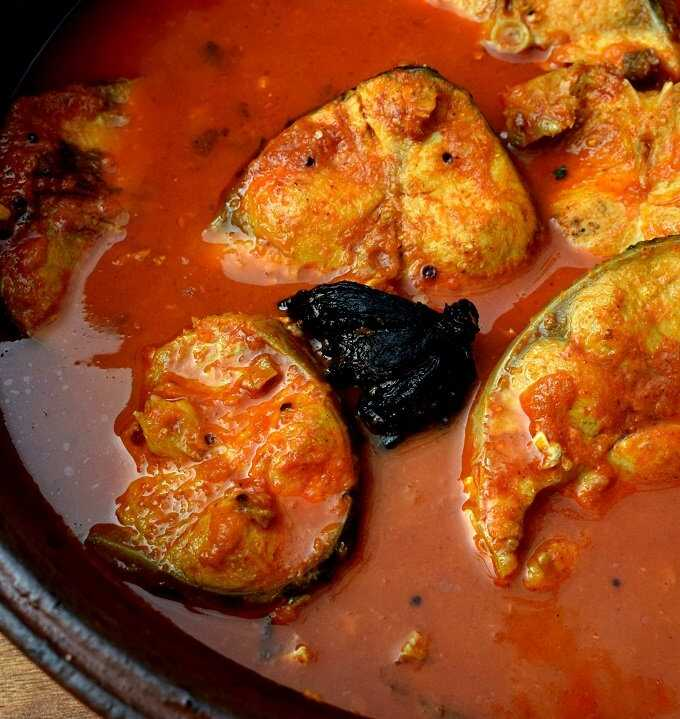Kottayam Fish Curry Recip- Kerala Fish Curry- Red Fish Curry