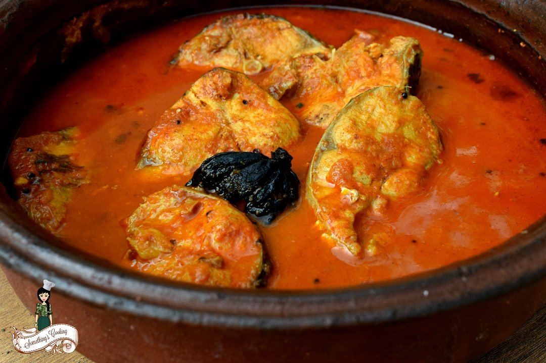 Kottayam Fish Curry with Coccum - Recipe - Red Fish Curry