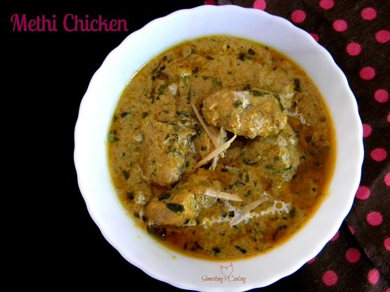 Methi Chicken - Methi Murg - Recipe