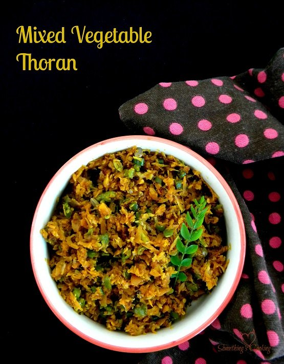 Mixed Veg Thoran- Recipe-Kerala