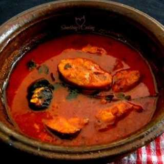 Red fish curry - Recipe - Images