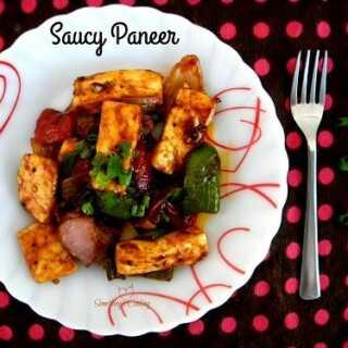 Saucy Paneer