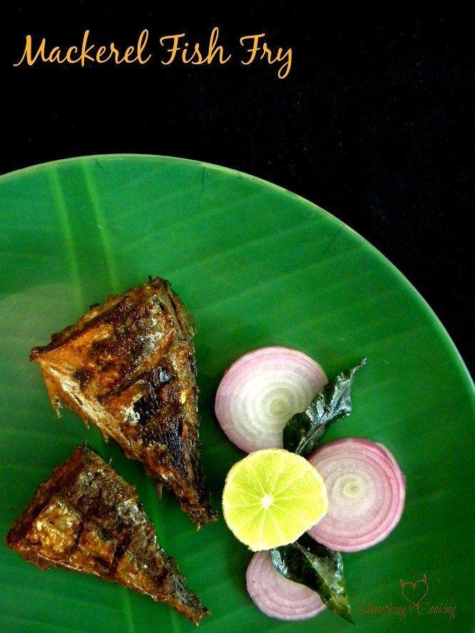 Mackeral Fish Fry -Ayala Fish Fry-Bangda Fish Fry- Recipe