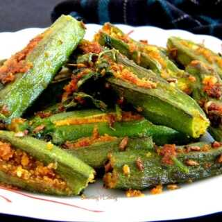 Stuffed Okra Fry