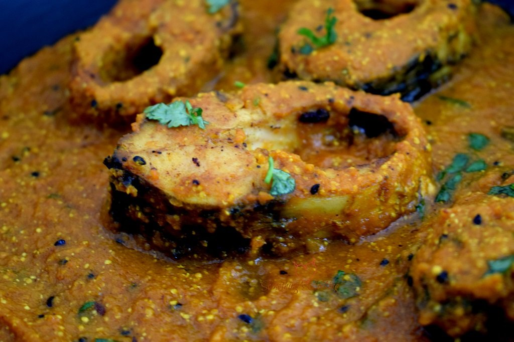 Bengali Mustard Fish - Curry - India - Recipe