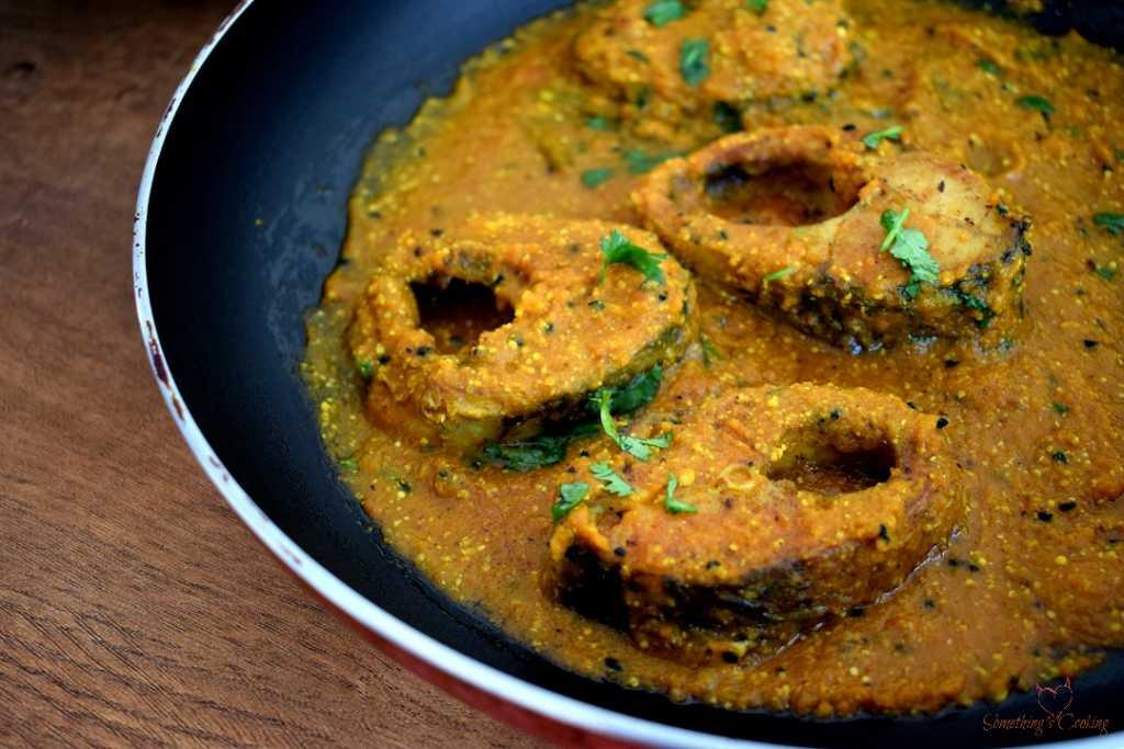 Maccher Jhol Recipe - Mustard Fish Curry Images - Bengali Fish Curry