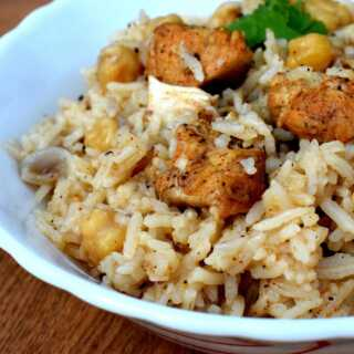 Spicy Moroccan Rice With Chicken