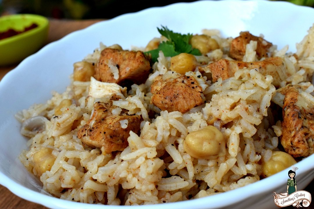 Spicy Moroccan Rice Recipe - With Chicken - Images