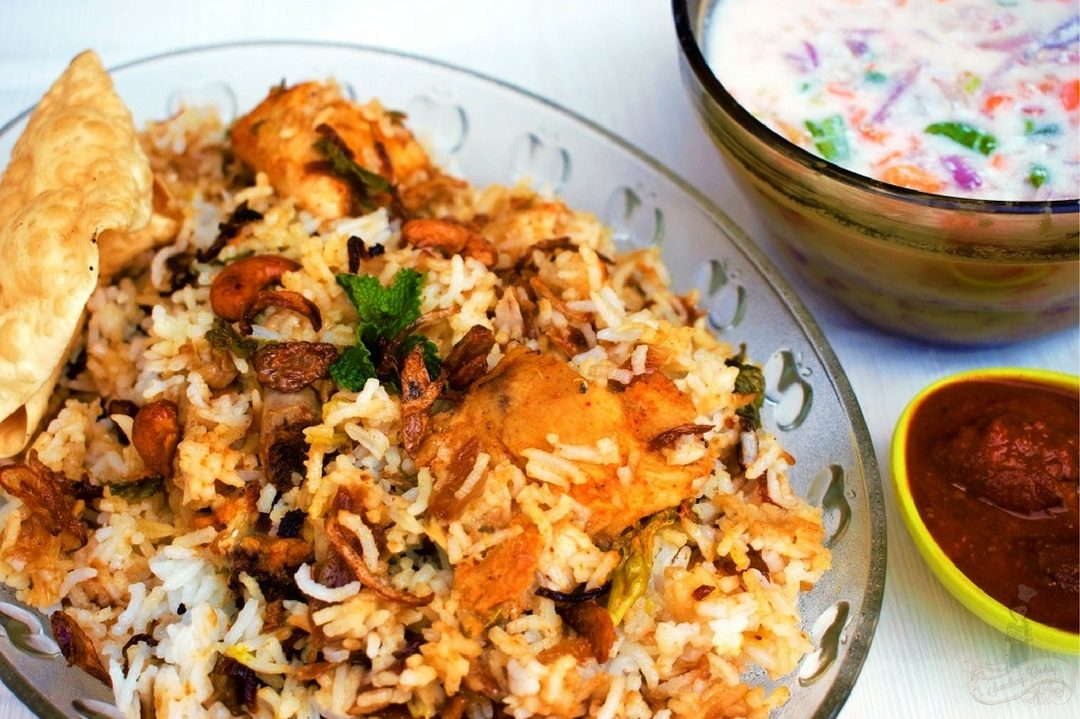 Hyderabadi Dum Biriyani Recipe India