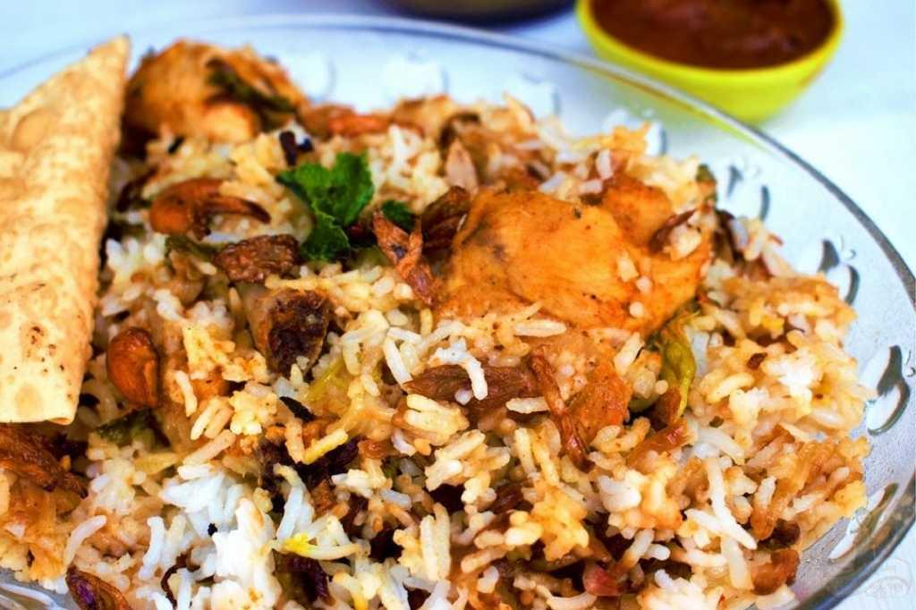 Hyderabadi Dum Chicken Biriyani