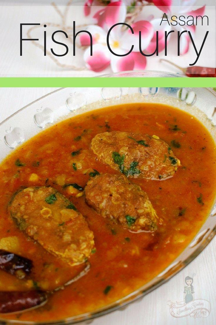 Aloo Bilahi Maas - Assam Fish Curry Pinterest