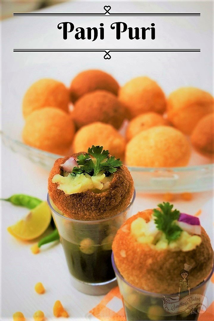 Pani Puri Recipe - How to make Pani Puri at home