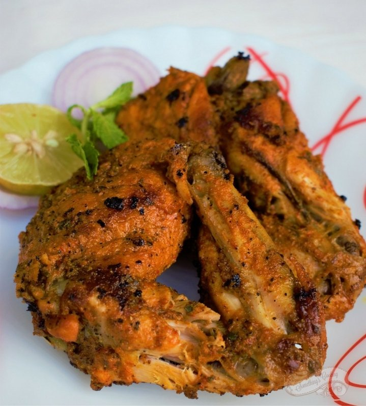 Tandoori Chicken Authentic - Tandoori Chicken drumsticks
