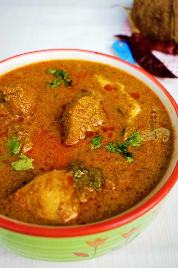Chicken Xacuti - Goan Xacuti - Chicken Xacuti Goa