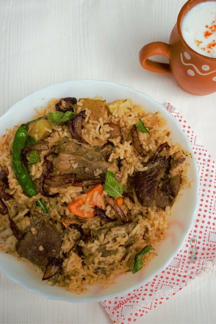 Yakhni biriyani - Yakhni Recipe - Authentic Yakhni Pulao recipe