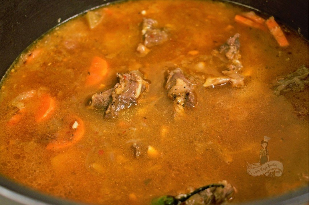 Yakhni Preparation - Step by step Instructions for making yakhni mutton pulao 5