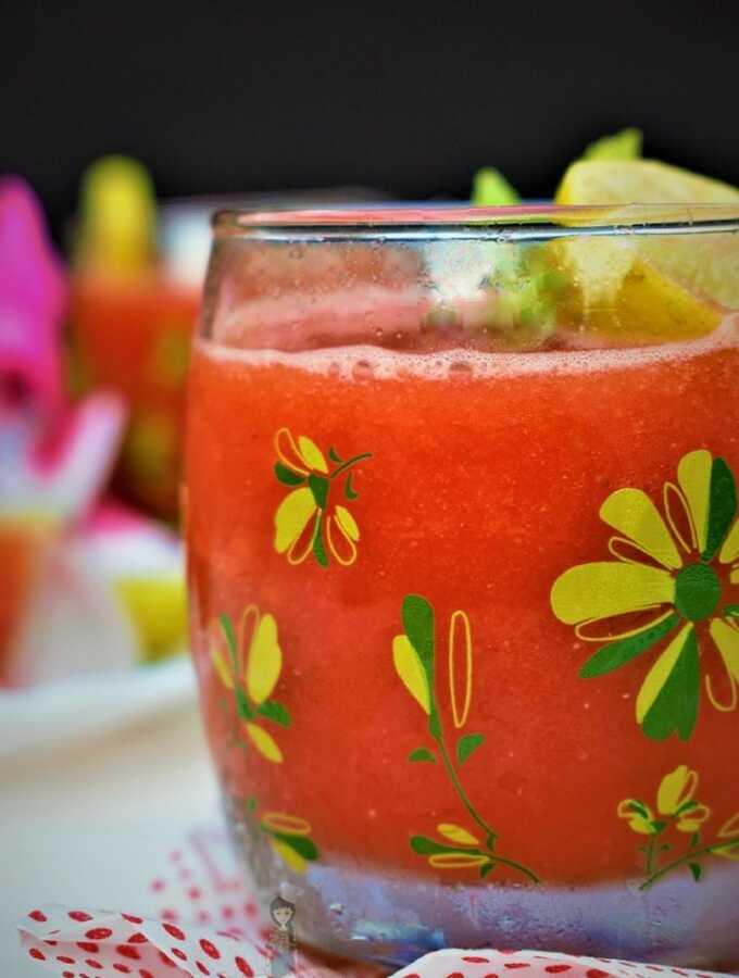 Watermelon drinks - summer drinks - summer drinks indian recipes