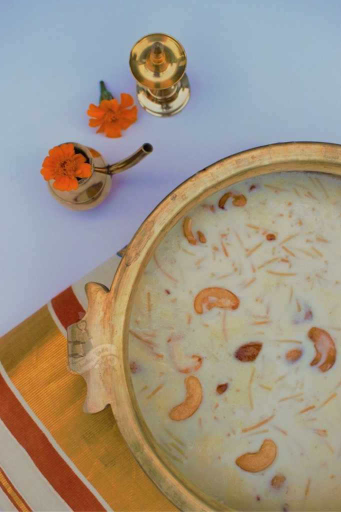 Semiya Payasam Easy recipe - Semiya Payasam recipe english how to make