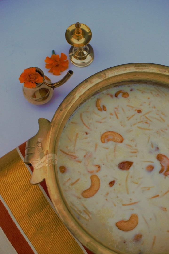 Semiya Payasam Ingredients Recipe- How to make semiya payasam