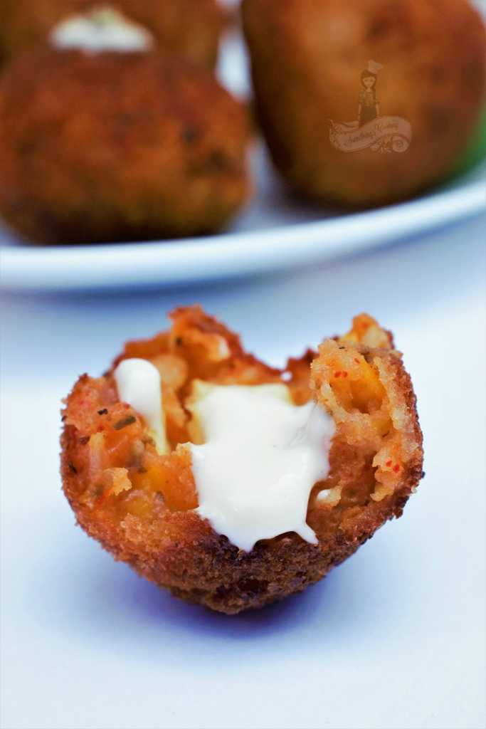 Corn and Cheese Croquettes Recipe