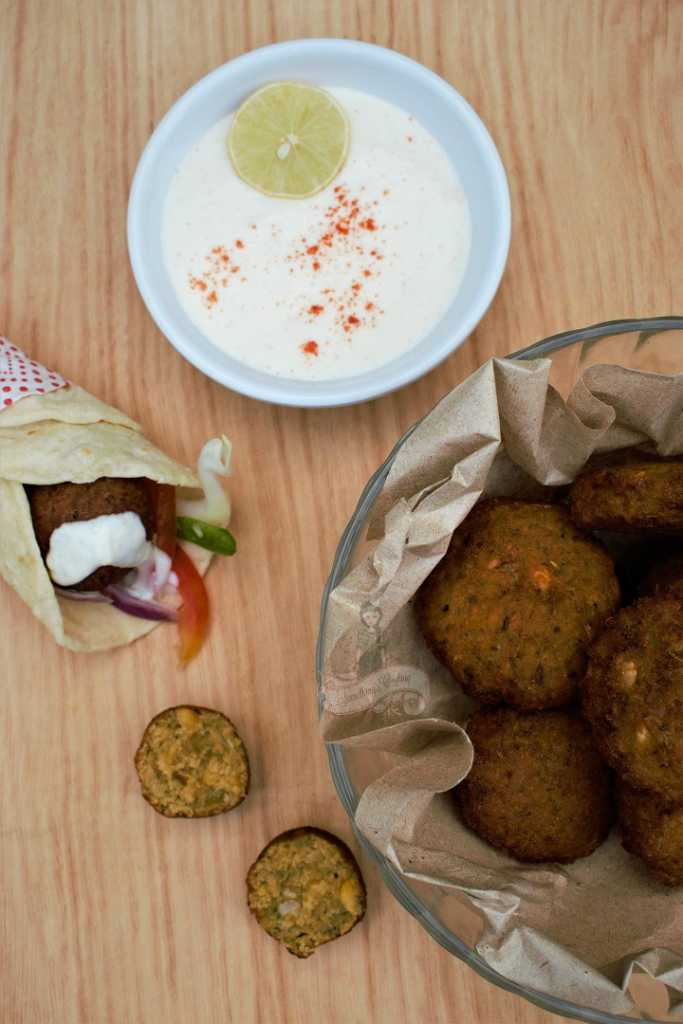 How to make Falafel at home - Recipe falafel