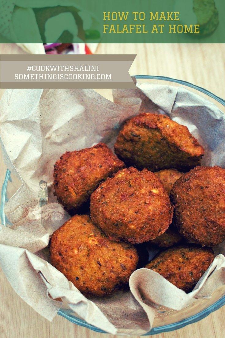 Falafel recipe pinterest somethingiscooking.com