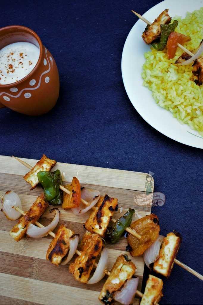 How to cook Tandoori Paneer Tikka at home - how to make Tandoori Paneer Tikka