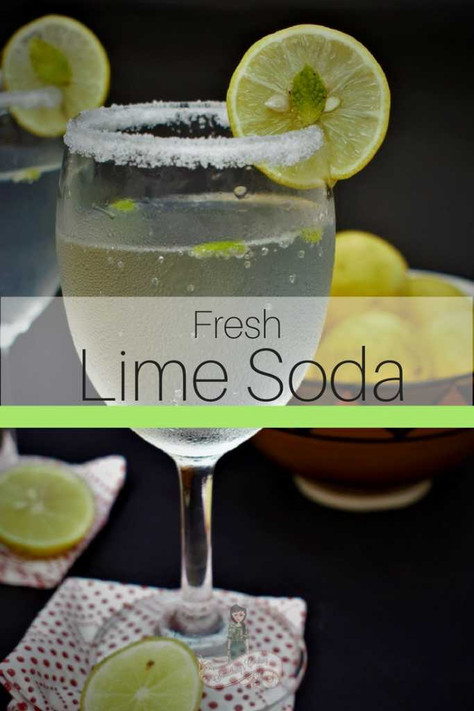 Fresh Lime Soda Pinterest