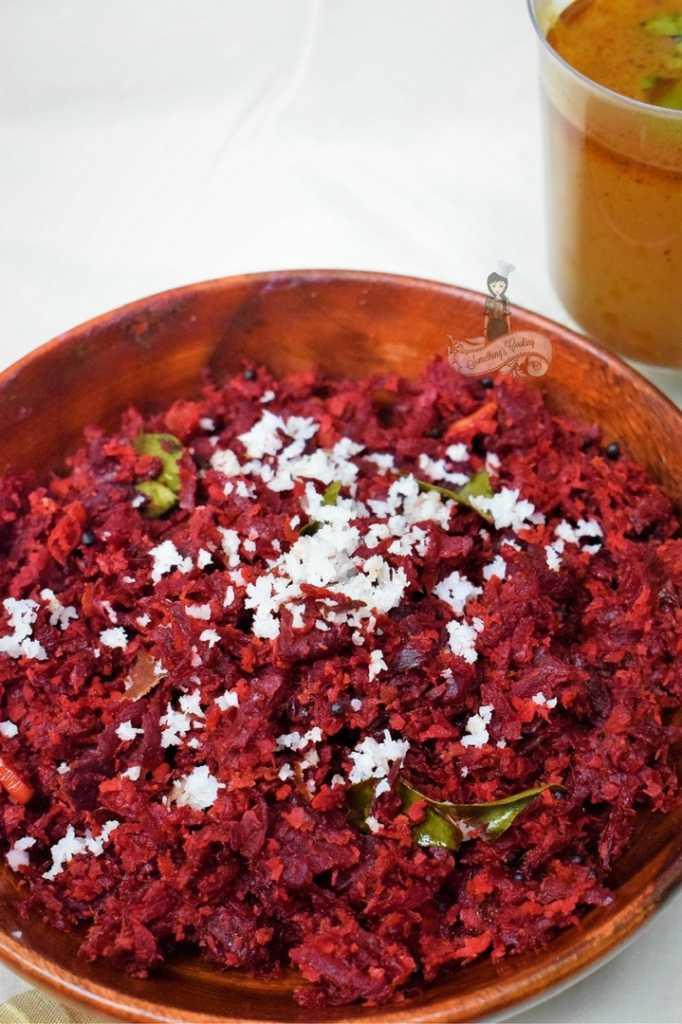 Beetroot thoran recipe- beetroot thoran images