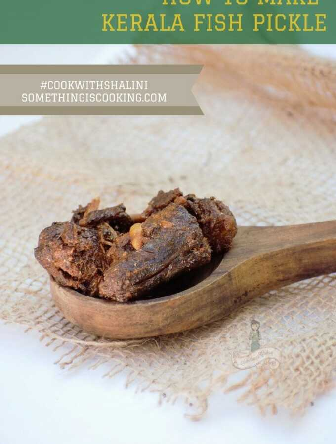 how to make kerala fish pickle- meen achar