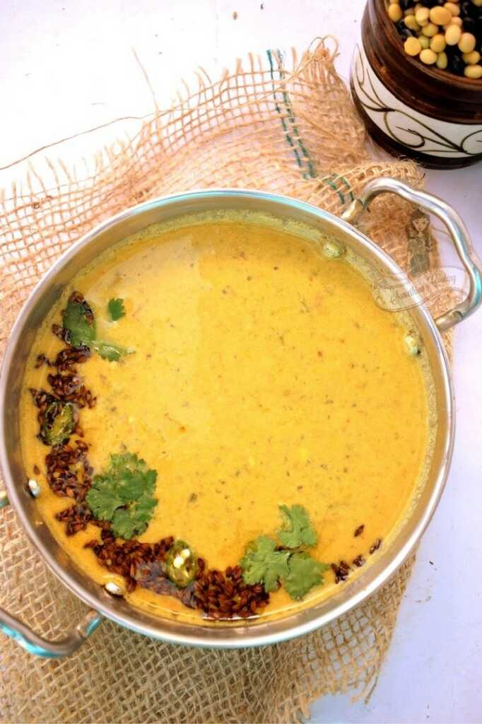 Bhatt ki Dal recipe in english - benefits of black soybean