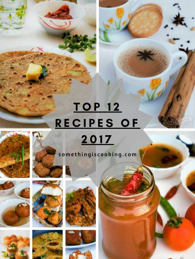 Top 12 Recipes of 2017 recipe roundup 2017 somethingiscooking.com