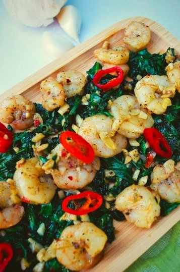 How to make Shrimp Spinach Salad recipe