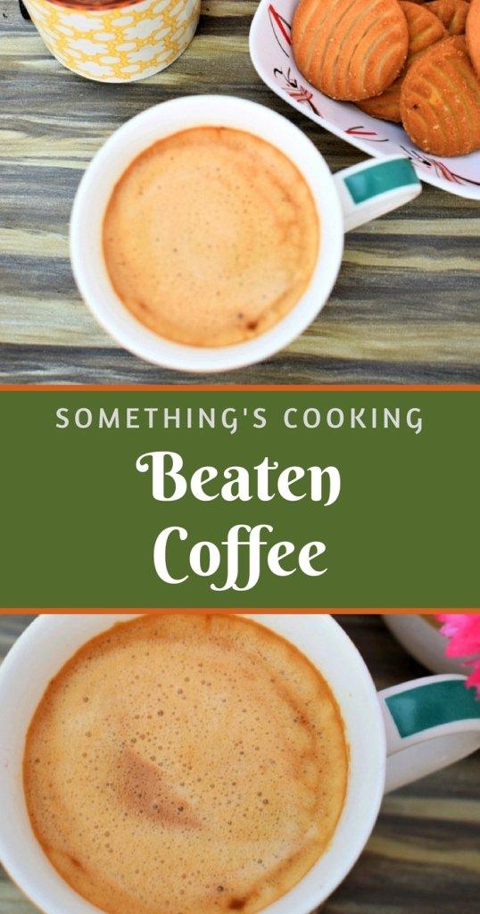 beaten coffee army life somethingiscooking.com