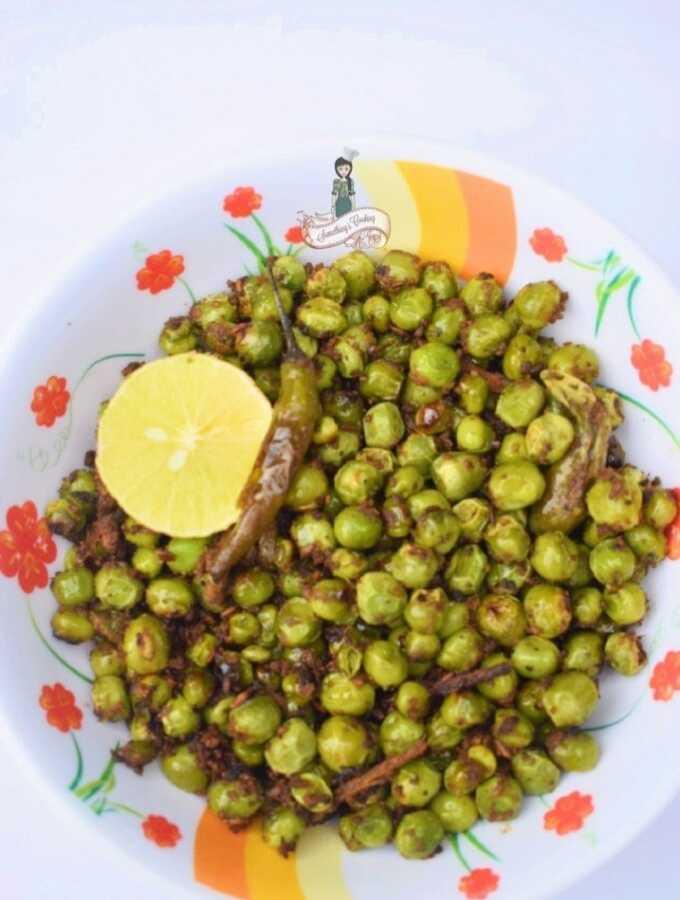 Spicy Peas somethingiscooking.com