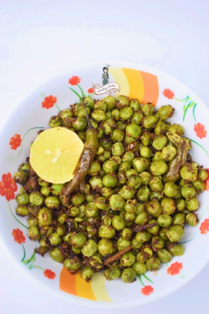 Indian Spiced Peas