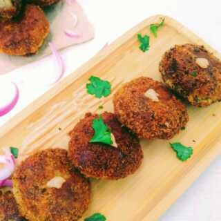 Keema Croquettes - Kerala Style Mutton Cutlet somethingiscooking.com