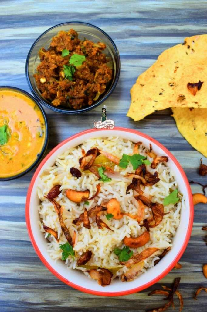 Neichoru | Kerala Style Ghee Rice