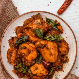 Chicken Peralan | Kerala Style Dry Roasted Chicken #GFTR2018