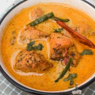 Chicken in Tea Infused Coconut Curry savory tea food