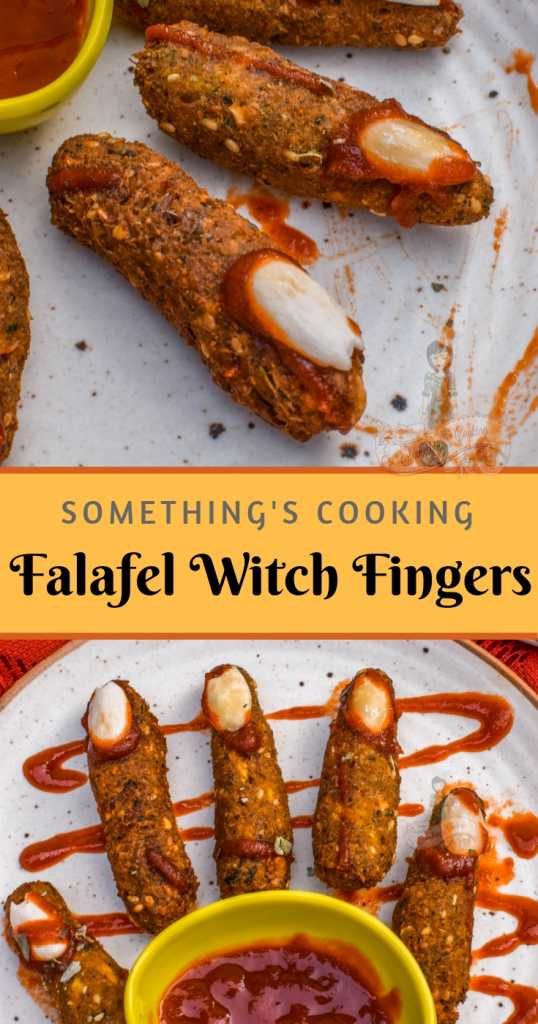 Falafel Witch Fingers Halooween recipes